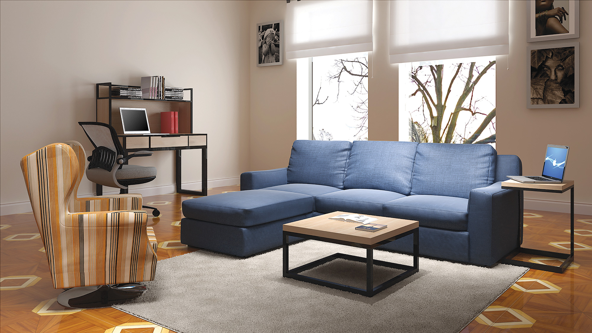 f3 student housing living room furniture