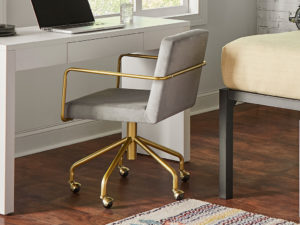 F3 iLive desk chair for student housing