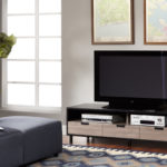 F3 Sanctuary media console student housing furniture