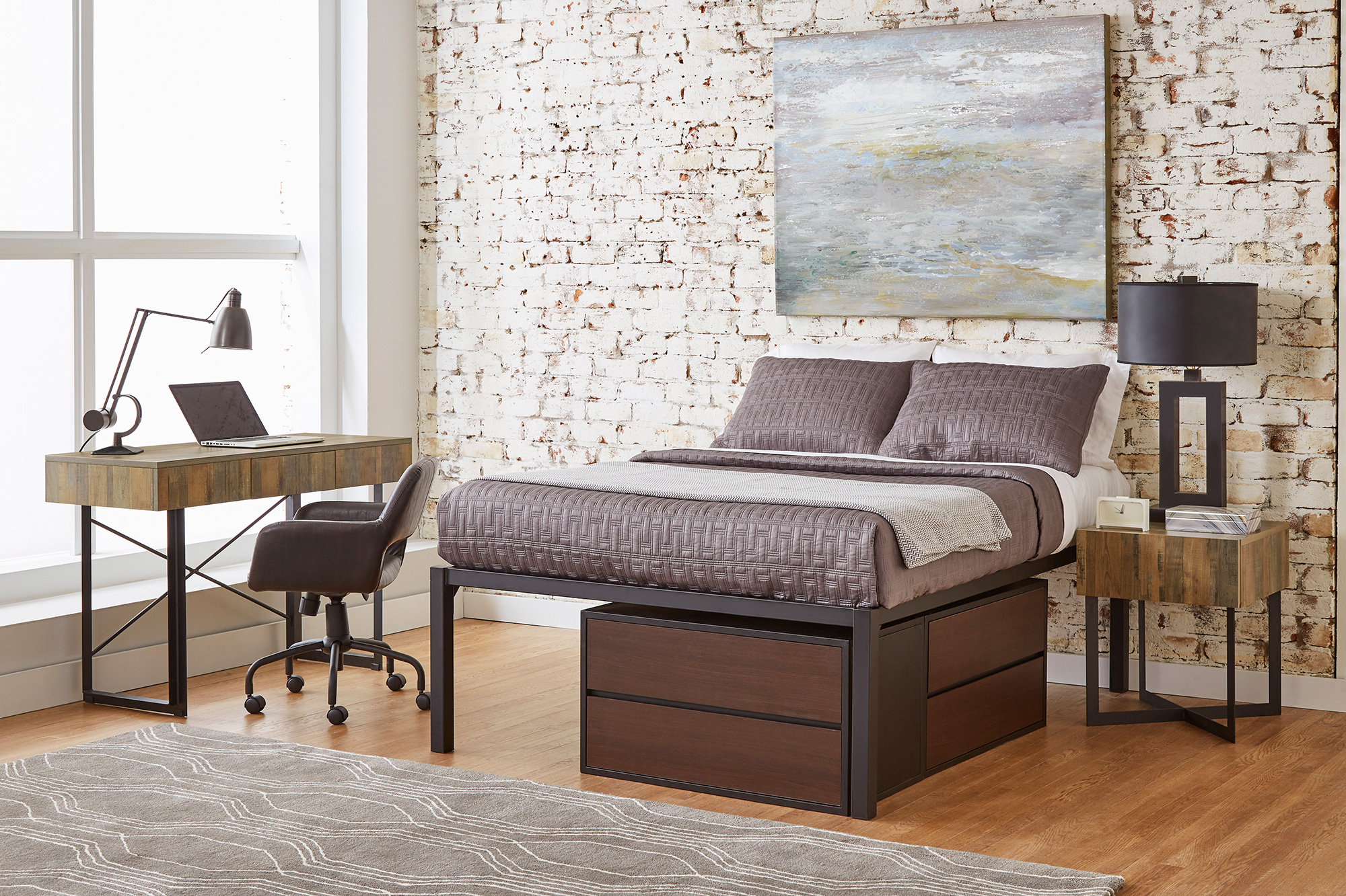 F3 NOLA bedroom furniture for student housing