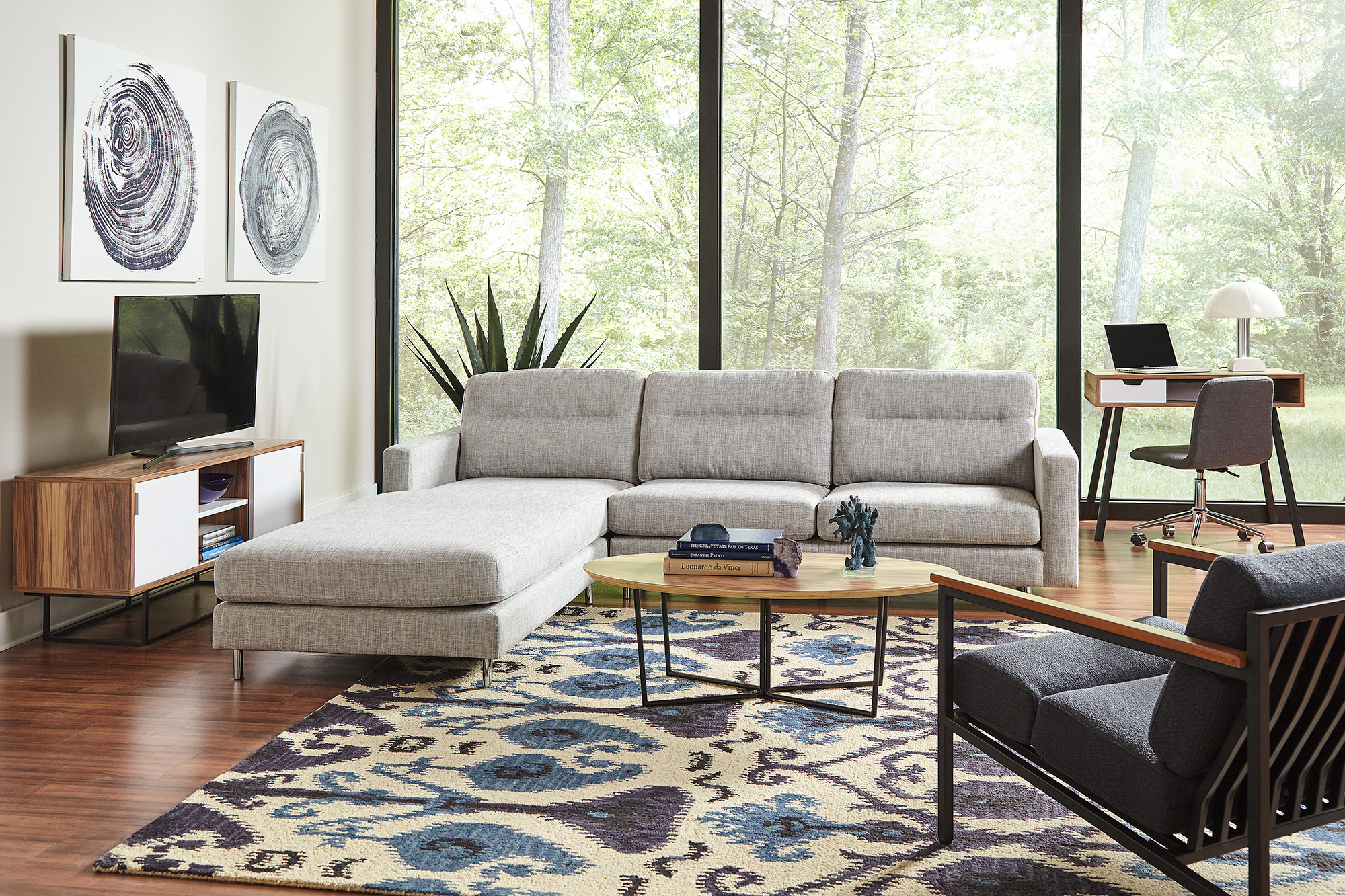 F3 Dmitri and iLive living room furniture for student housing