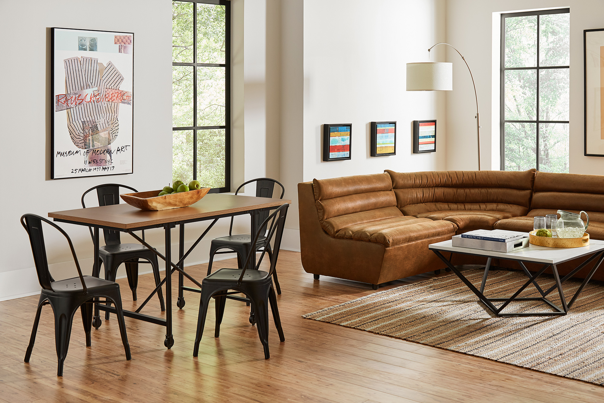 F3 living area furniture for student housing